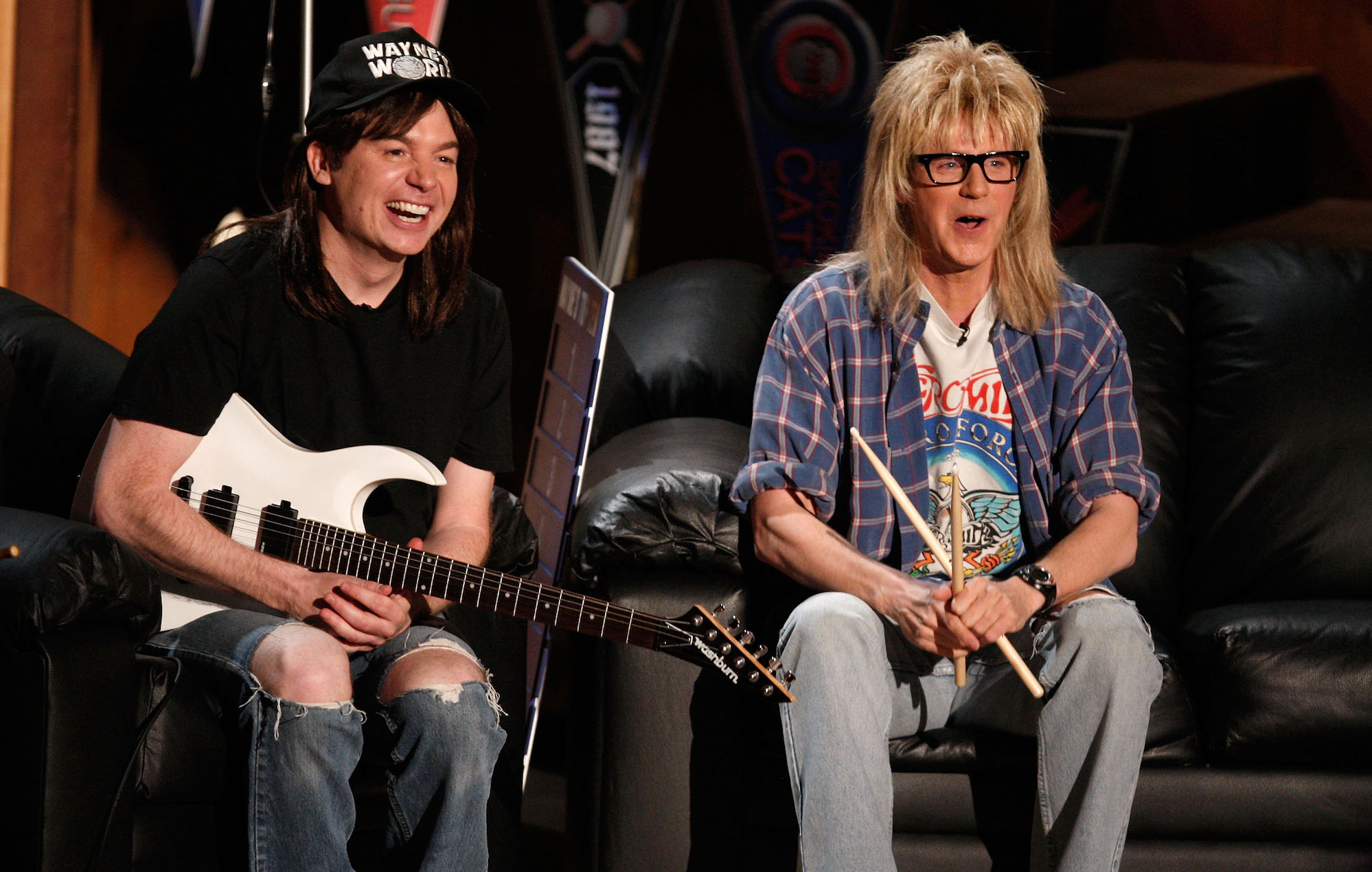 Wayne and Garth from Wayne's World