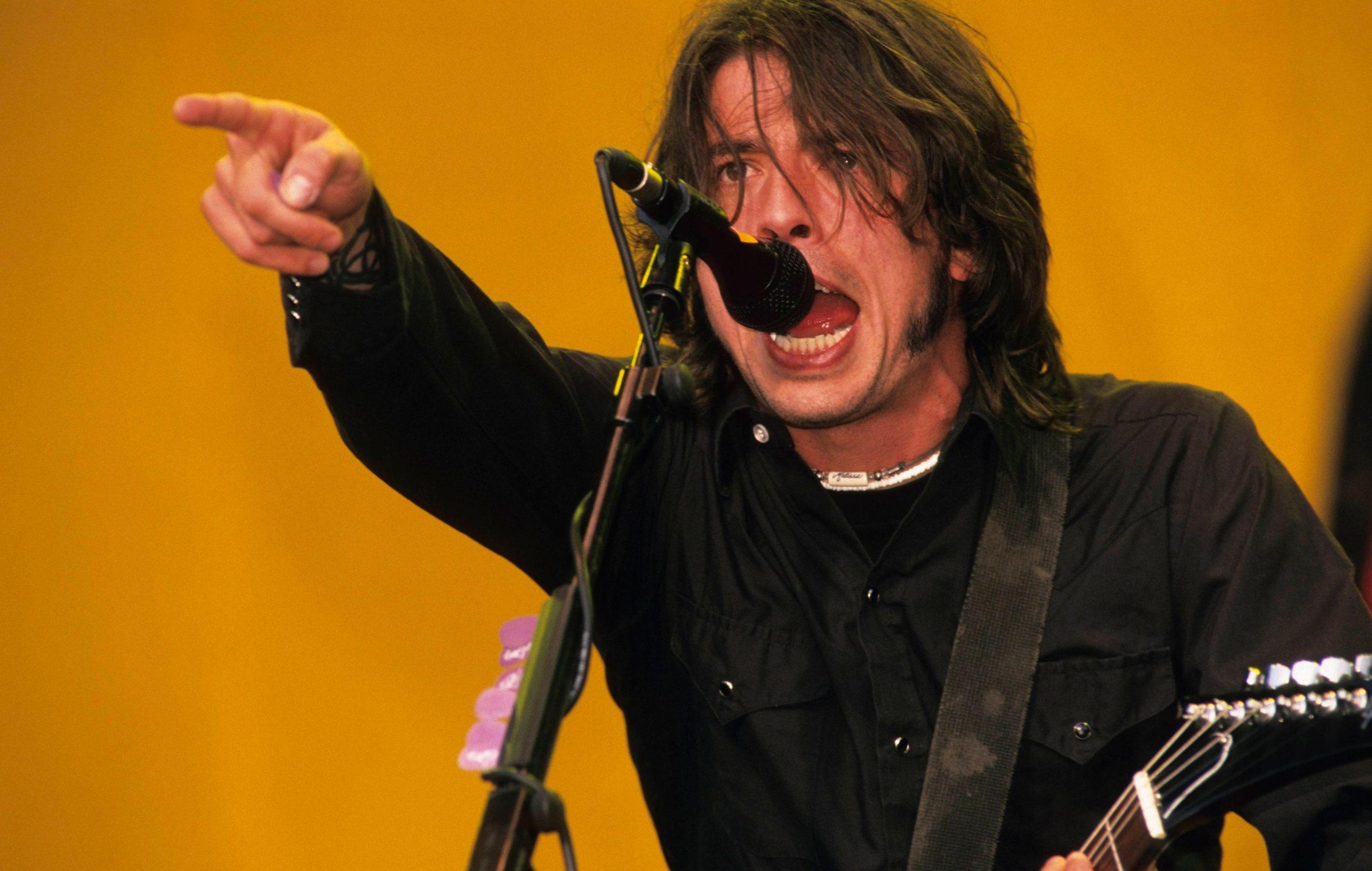 Foo Fighters Reading Festival 2000