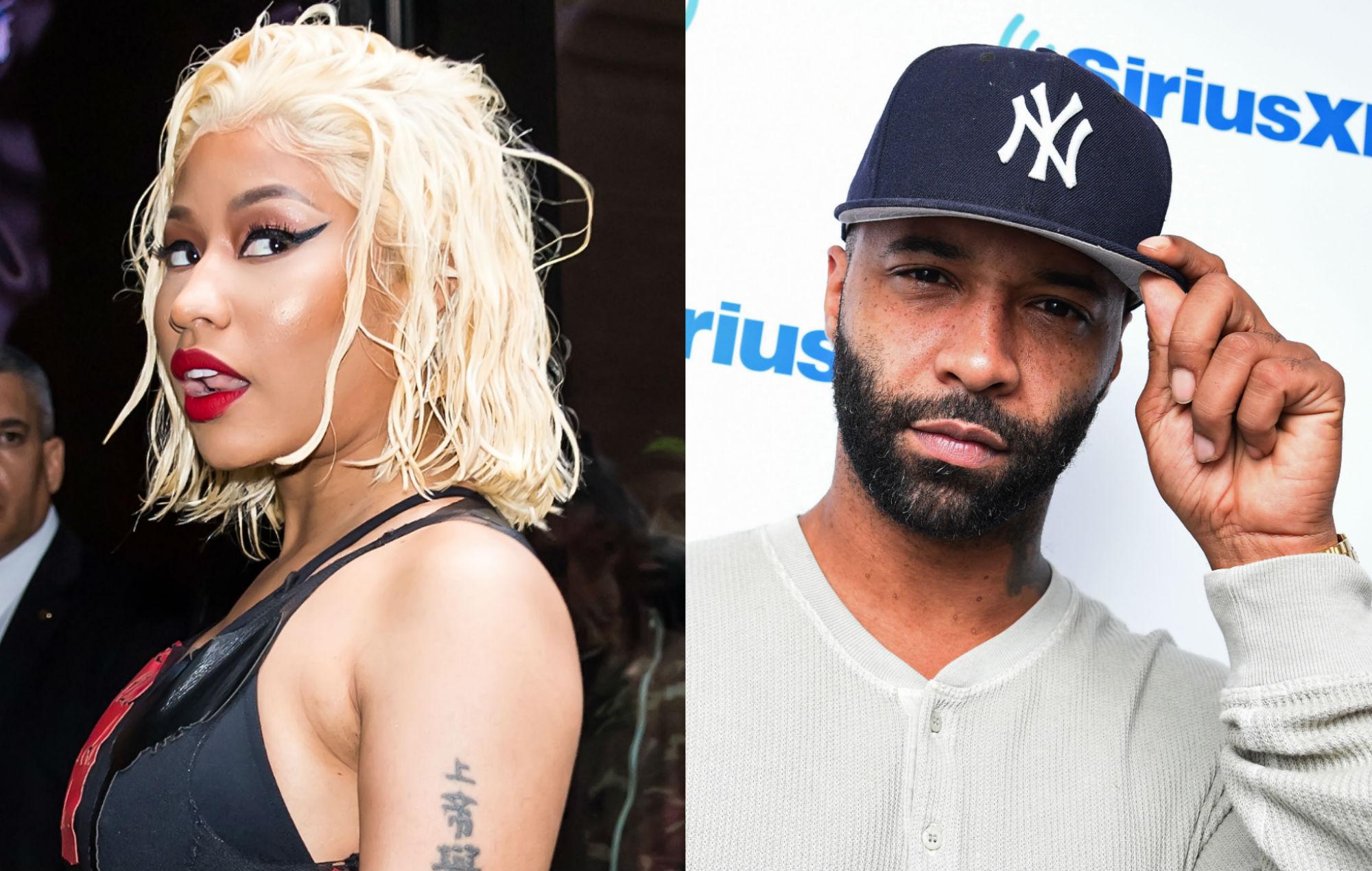 Nicki Minaj kicks Joe Budden off her 'QUEEN RADIO' show