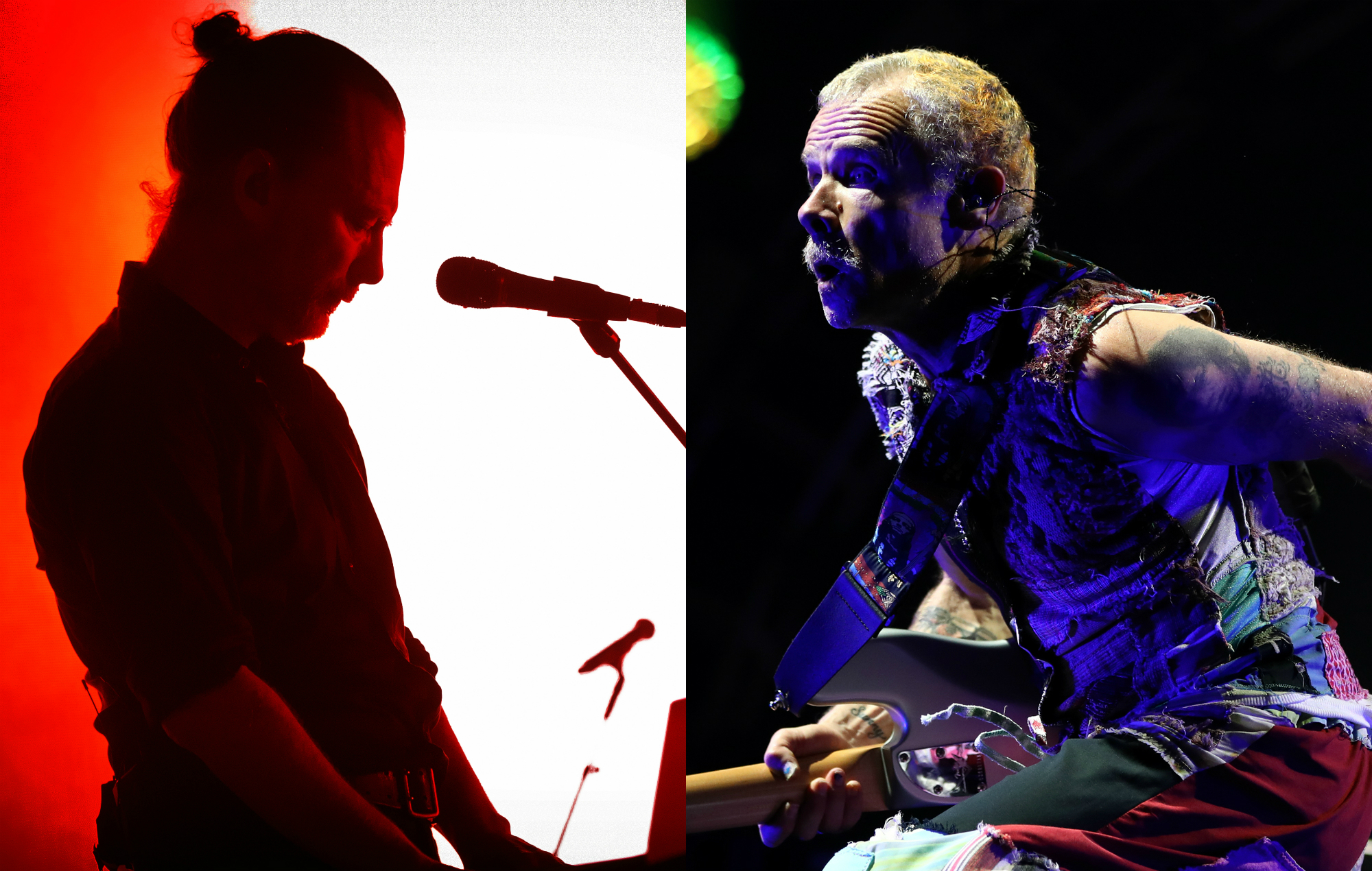 Listen to Thom Yorke and Flea's haunting new collaboration, 'Daily Battles' | NME