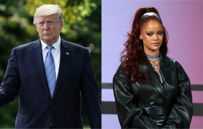 President Donald Trump, Rihanna