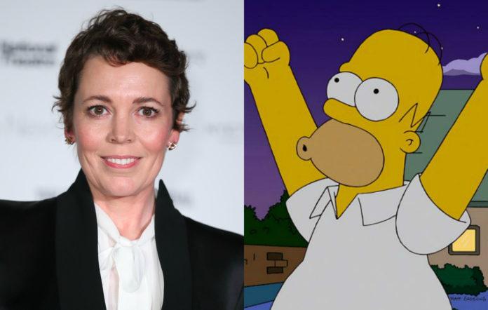 Olivia Colman, The Simpsons
