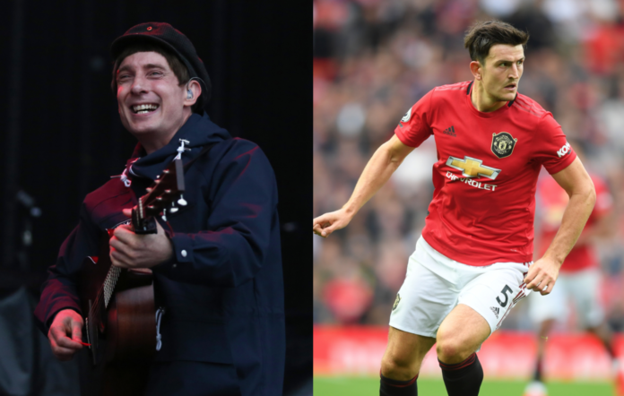 Gerry Cinnamon and Harry Maguire