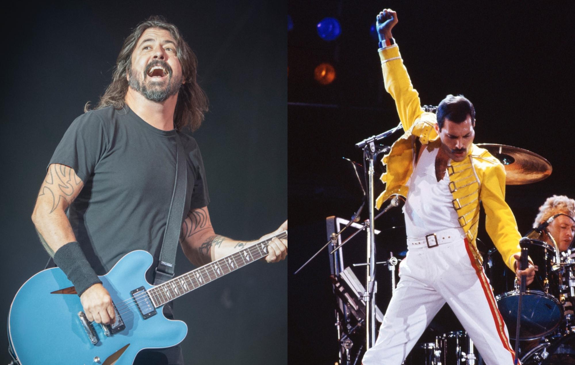 Foo Fighters Freddie Mercury