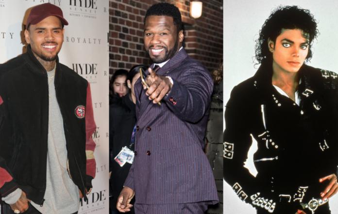 50 Cent, Chris Brown, Michael Jackson