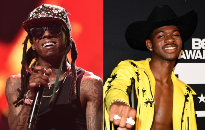 Lil Wayne and Lil Nas X