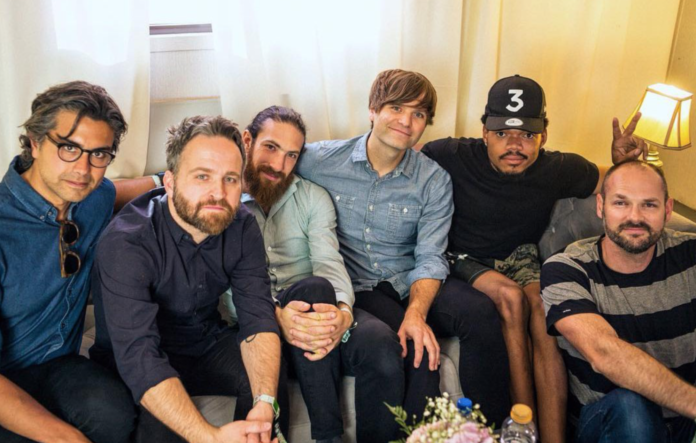 Chance The Rapper and Death Cab For Cutie