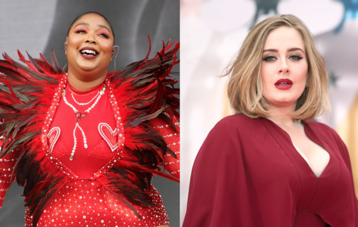Lizzo and Adele