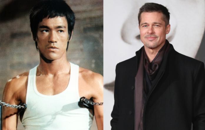 Brad Pitt and Bruce Lee