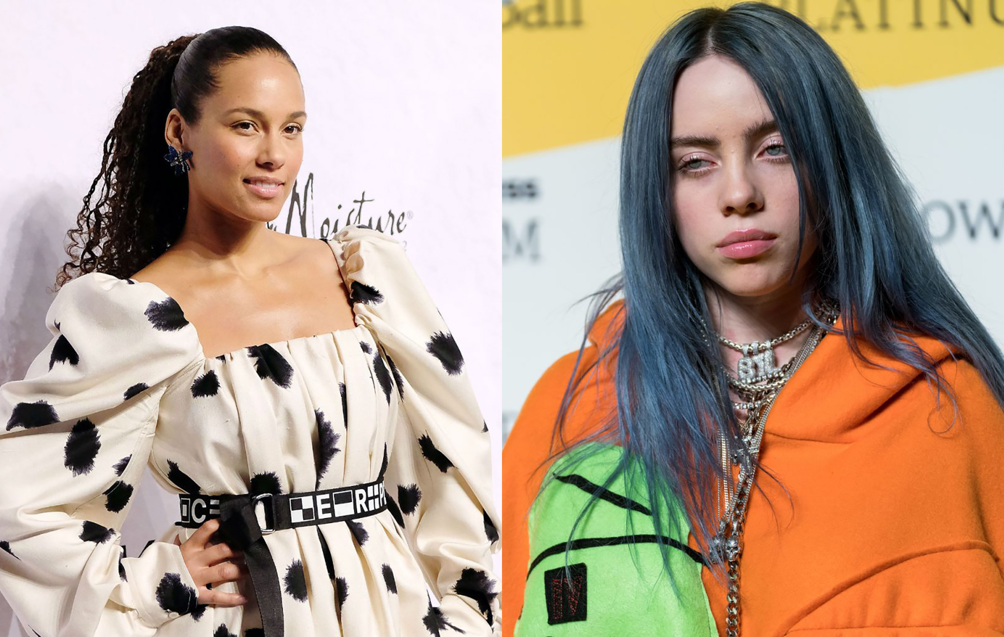 Alicia Keys covers Billie Eilish's Ocean Eyes