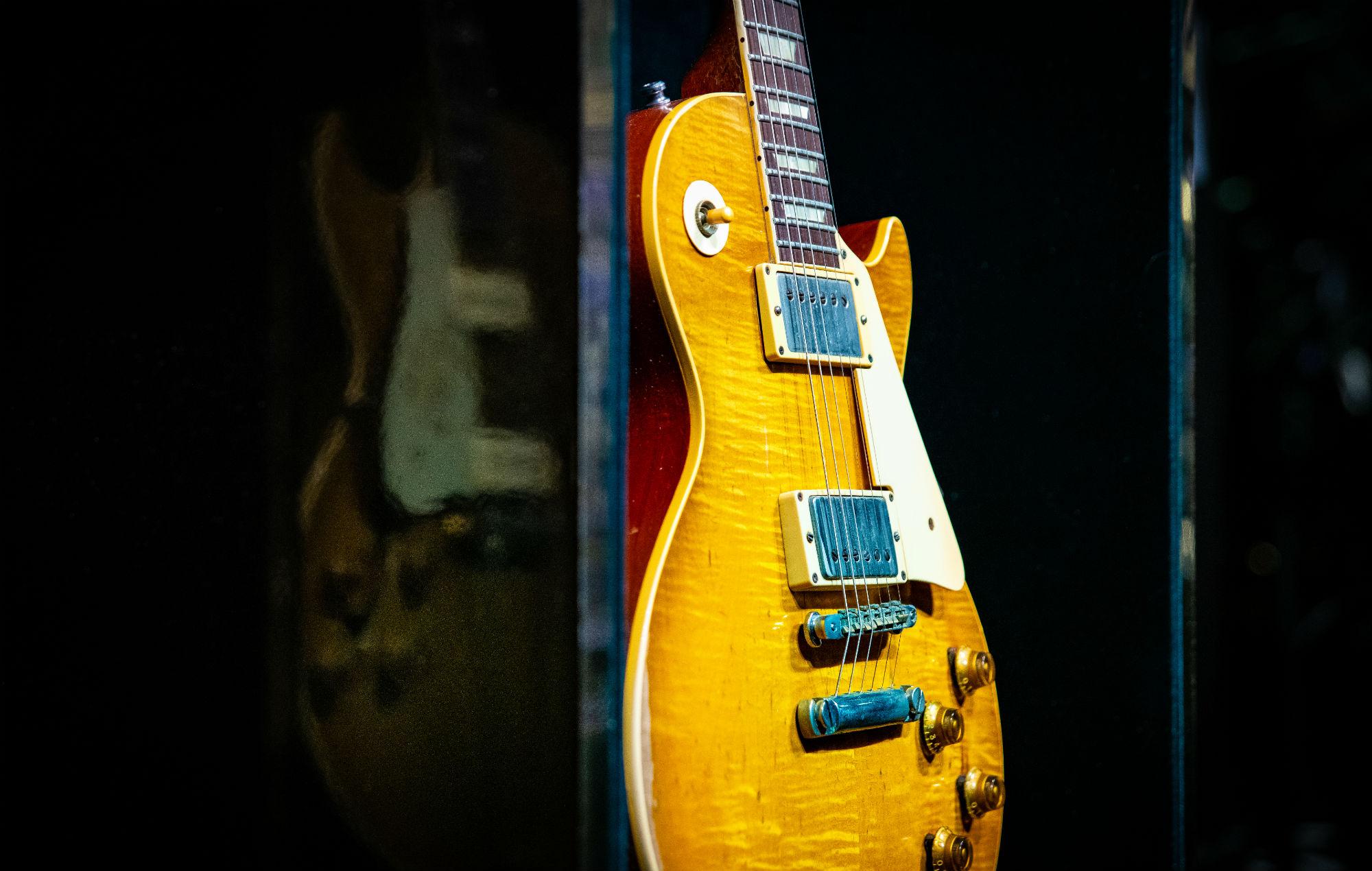 Gibson Firebird smashed