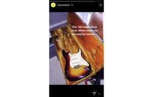 Fender maple neck Strat
