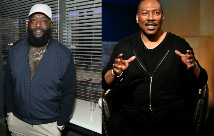 Coming To America sequel Rick Ross Eddie Murphy