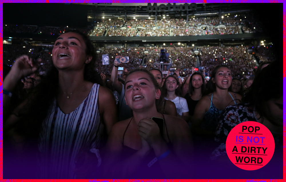 Teenage Fans at One Direction Concert Thinkpiece