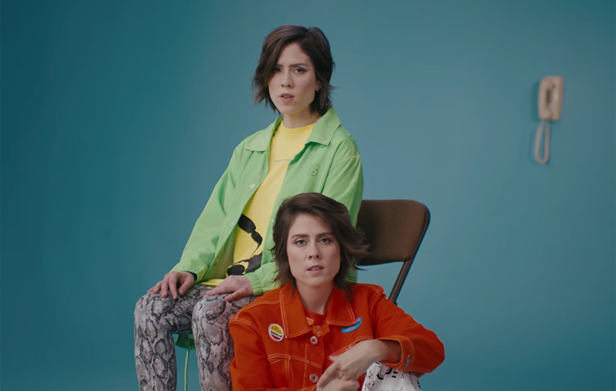 Watch Tegan and Sara perform 'I'll Be Back Someday' and discuss high school LSD habit | NME
