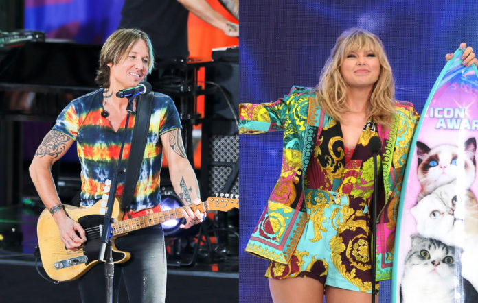 Keith Urban covers Taylor Swift's Lover