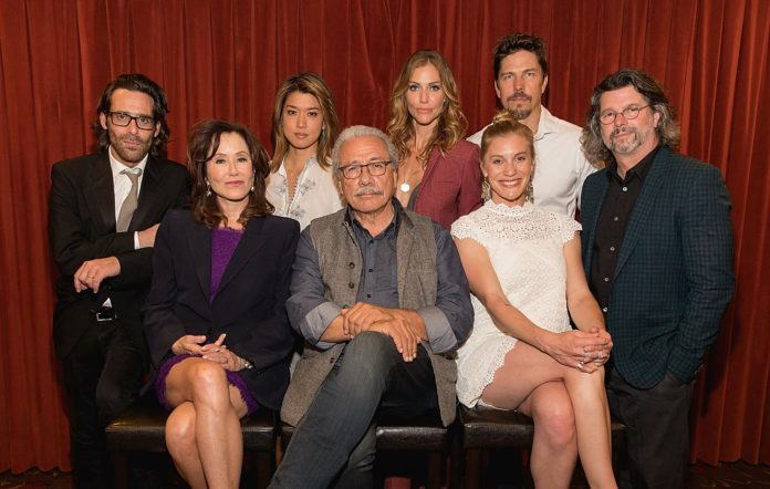 The cast of the 2004 reboot of 'Battlestar Galactica'