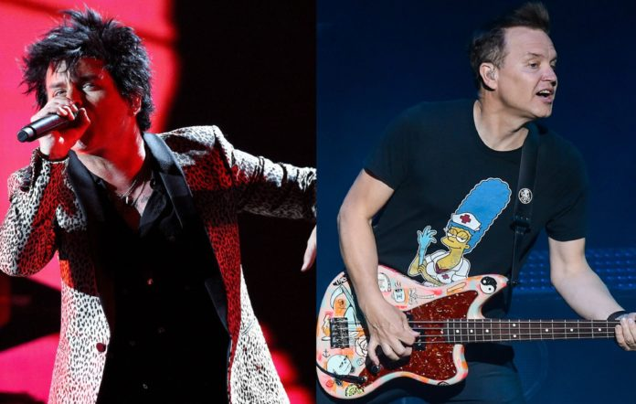 Green Day's Billie Joe Armstrong and Blink-182's Mark Hoppus