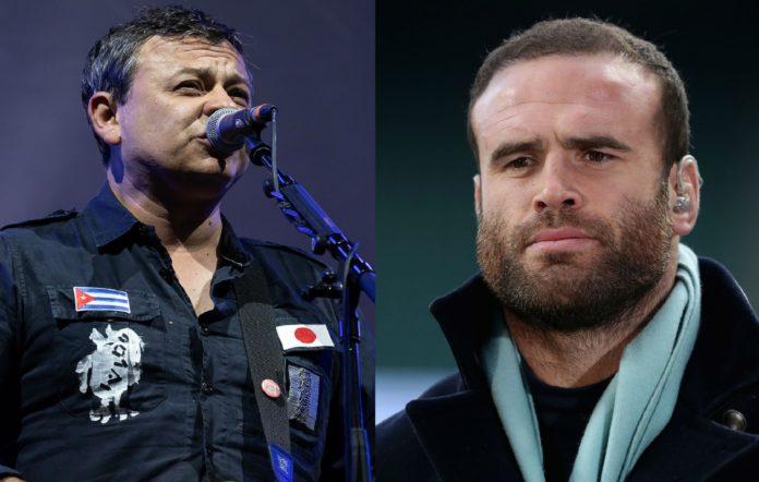 Manic Street Preachers frontman James Dean Bradfield and Welsh rugby star Jamie Roberts
