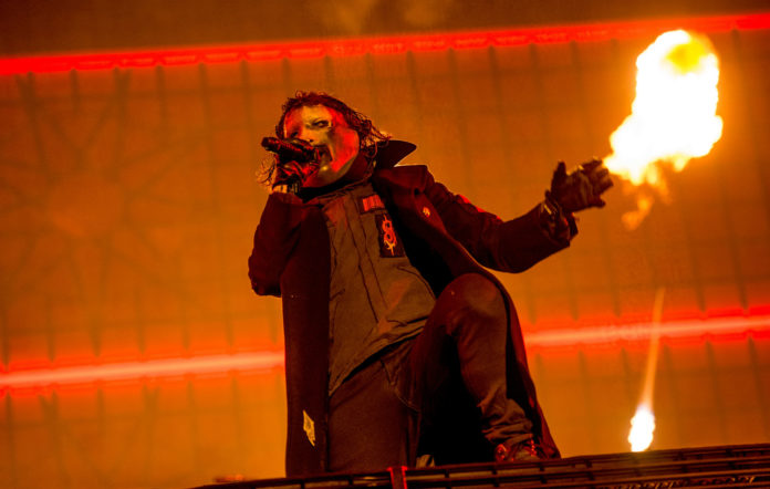 Corey Taylor of Slipknot performs live in 2019