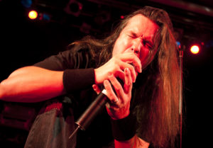 Dan Nelson of Anthrax performs on stage at ULU on June 16, 2009 in London, England