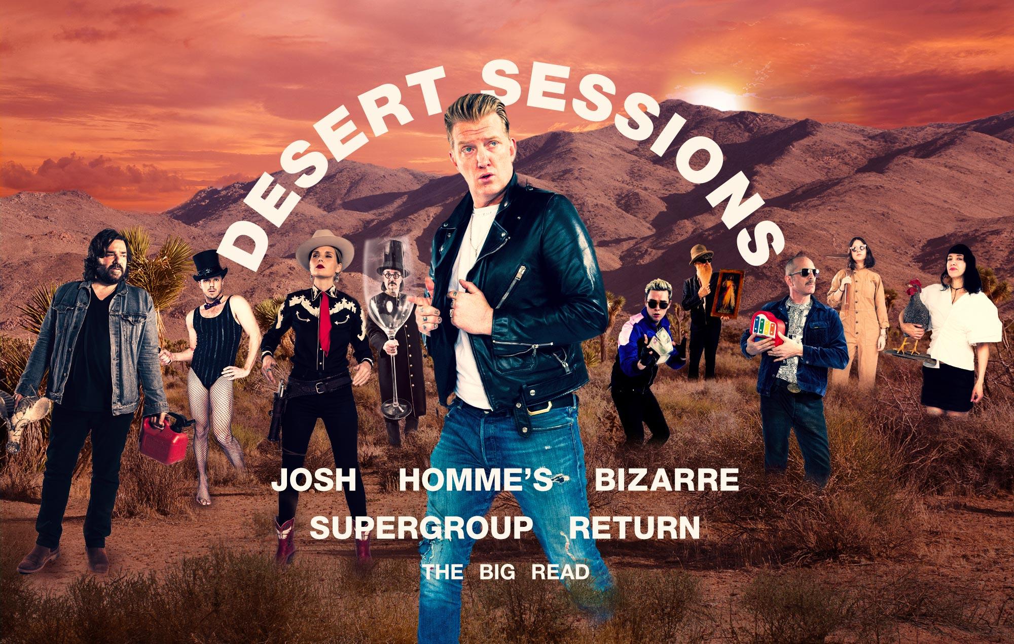 Desert Sessions interview Josh Homme