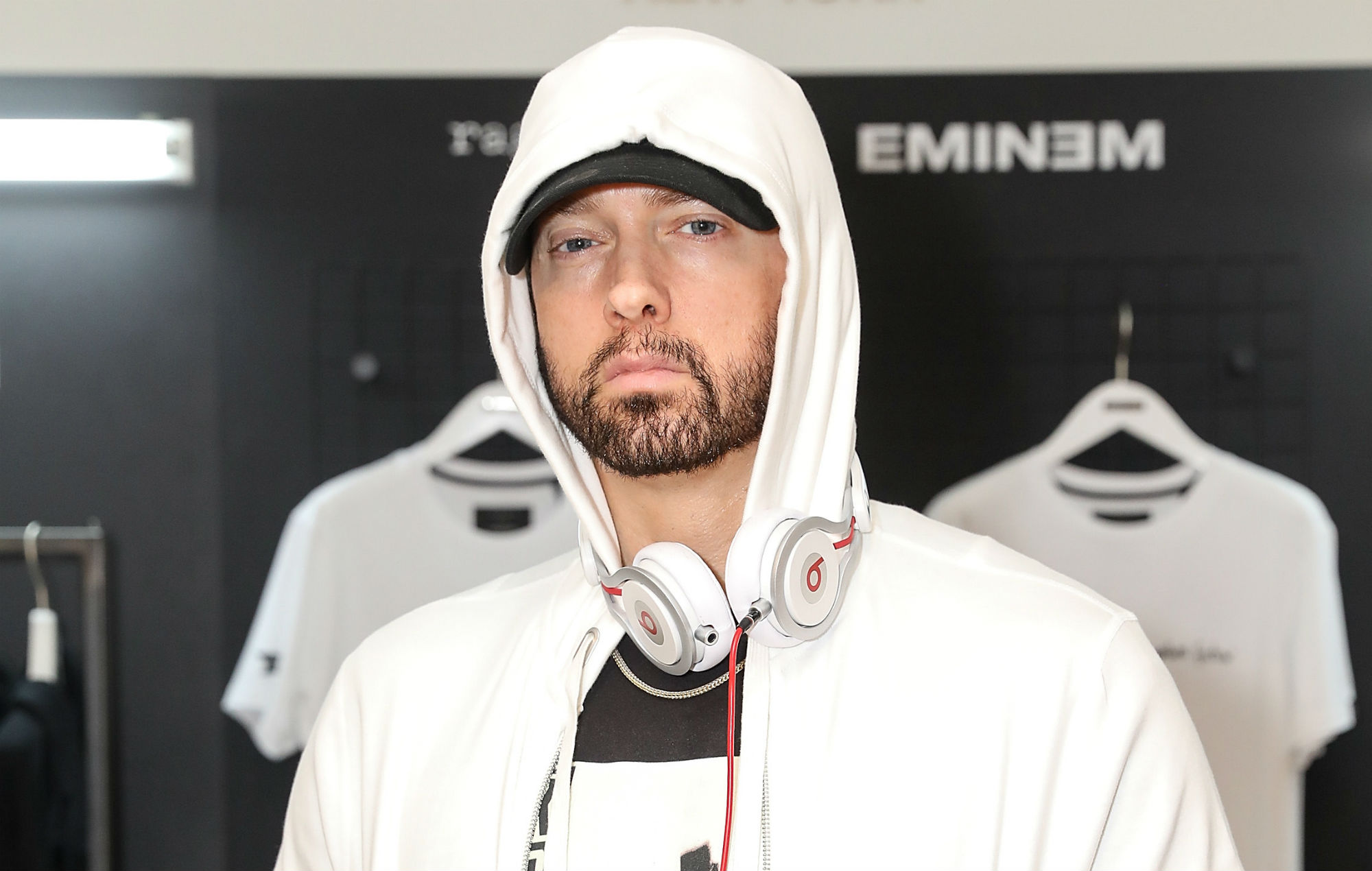 Listen to Eminem's diss-filled collaboration with Fat Joe, 'Lord Above'