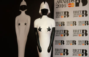 Brit Awards 2016 statue