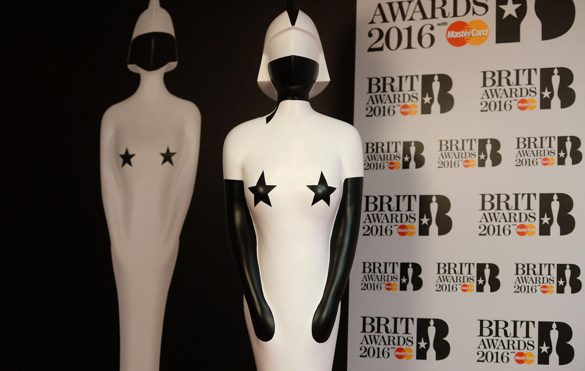 Brit Awards 2016 statue