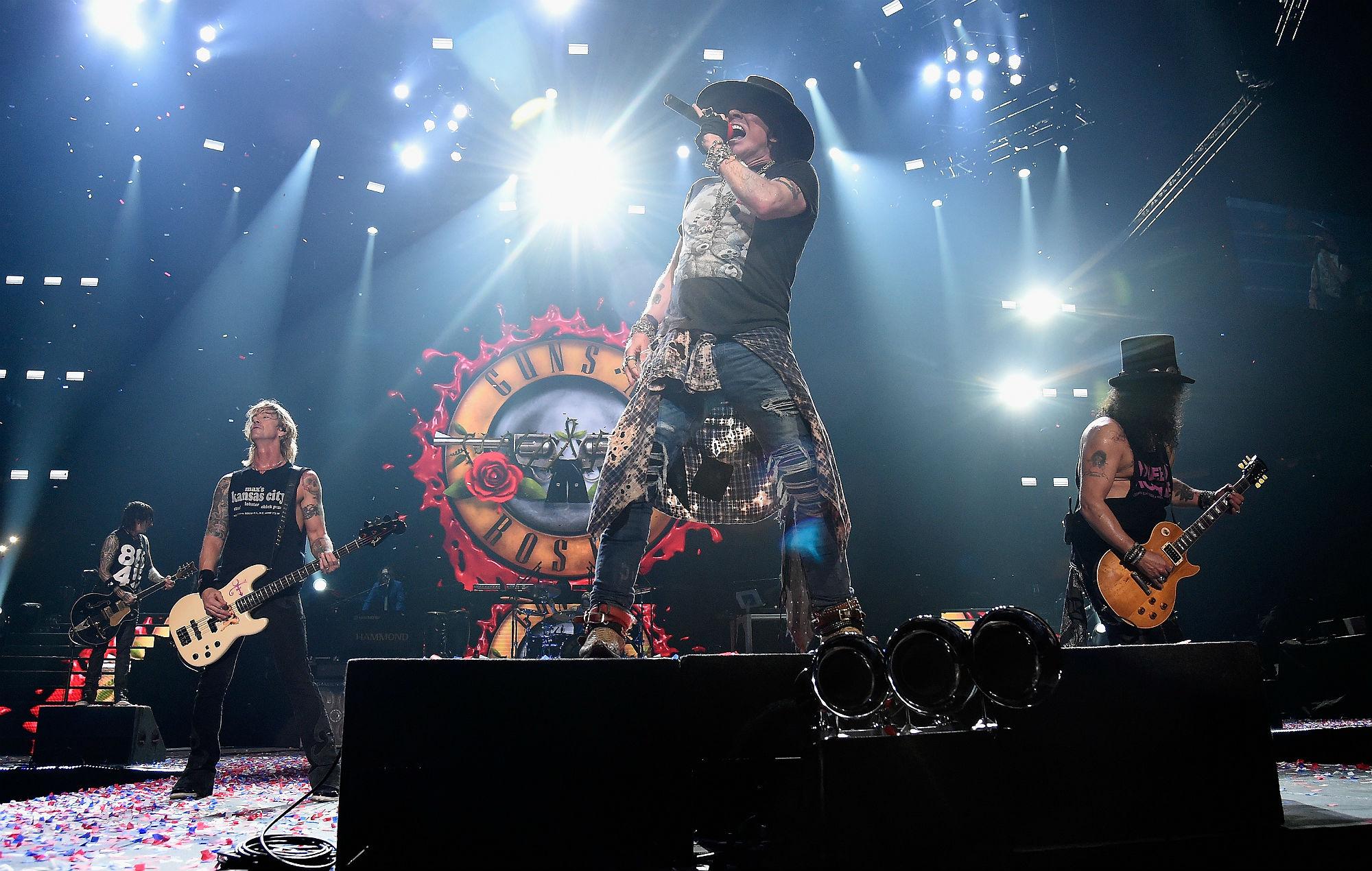 Guns N' Roses announce massive Glasgow show