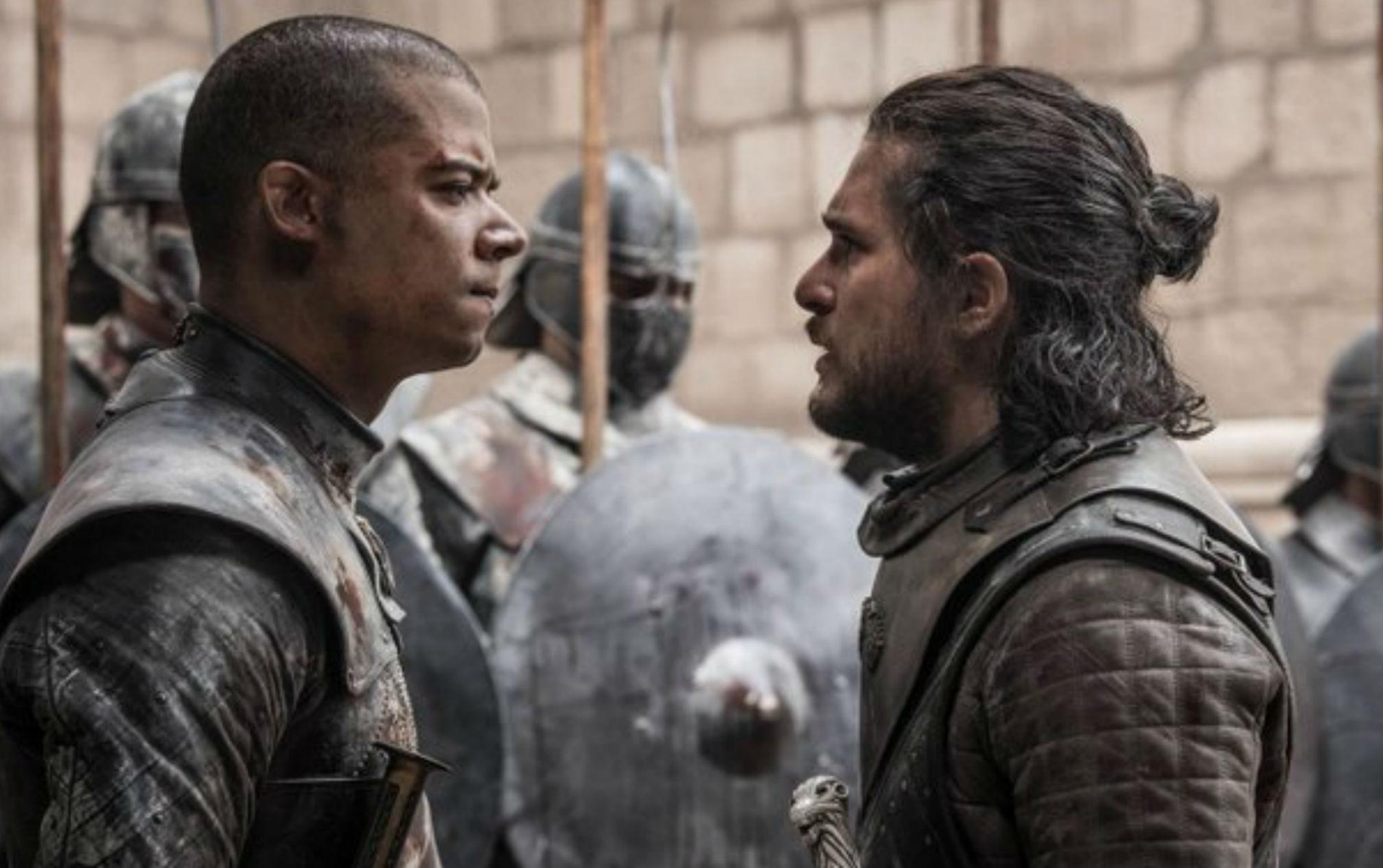 Game of Thrones; Jon Snow; Grey Worm