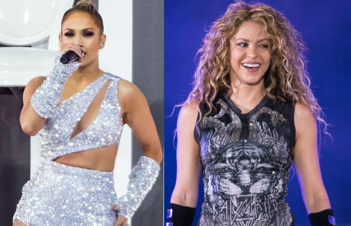 JLo; Shakira; Jennifer Lopez