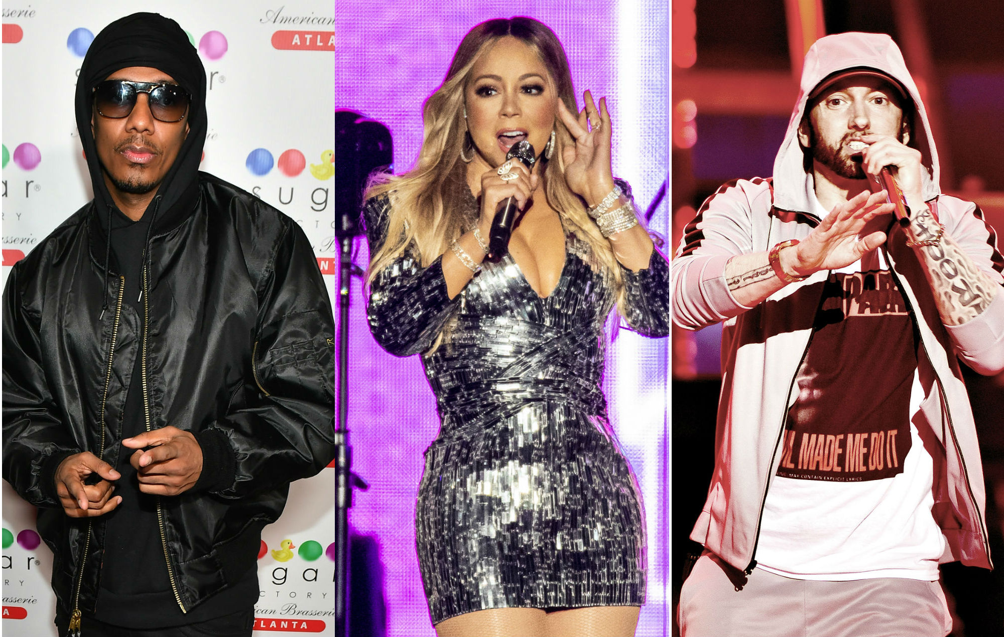I Will Whoop Your Ass Nick Cannon Re Ignites Feud With Eminem Over Mariah Carey