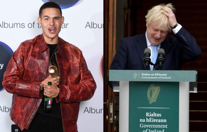 Hyundai Mercury Prize 2019: Slowthai sticks Boris Johnson's face on a decapitated mannequin