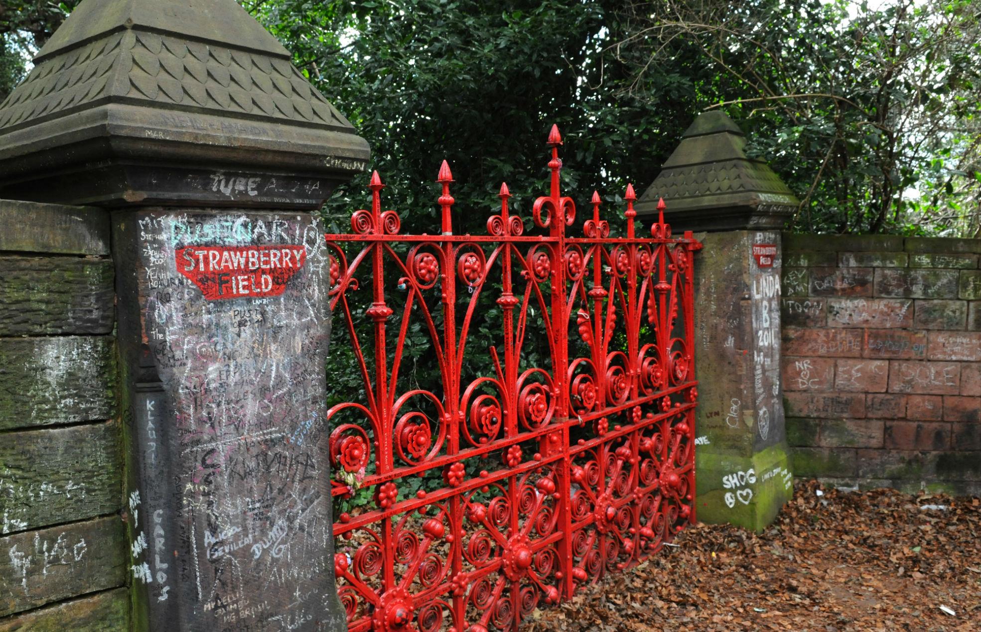 Beatles; Strawberry Fields; Liverpool