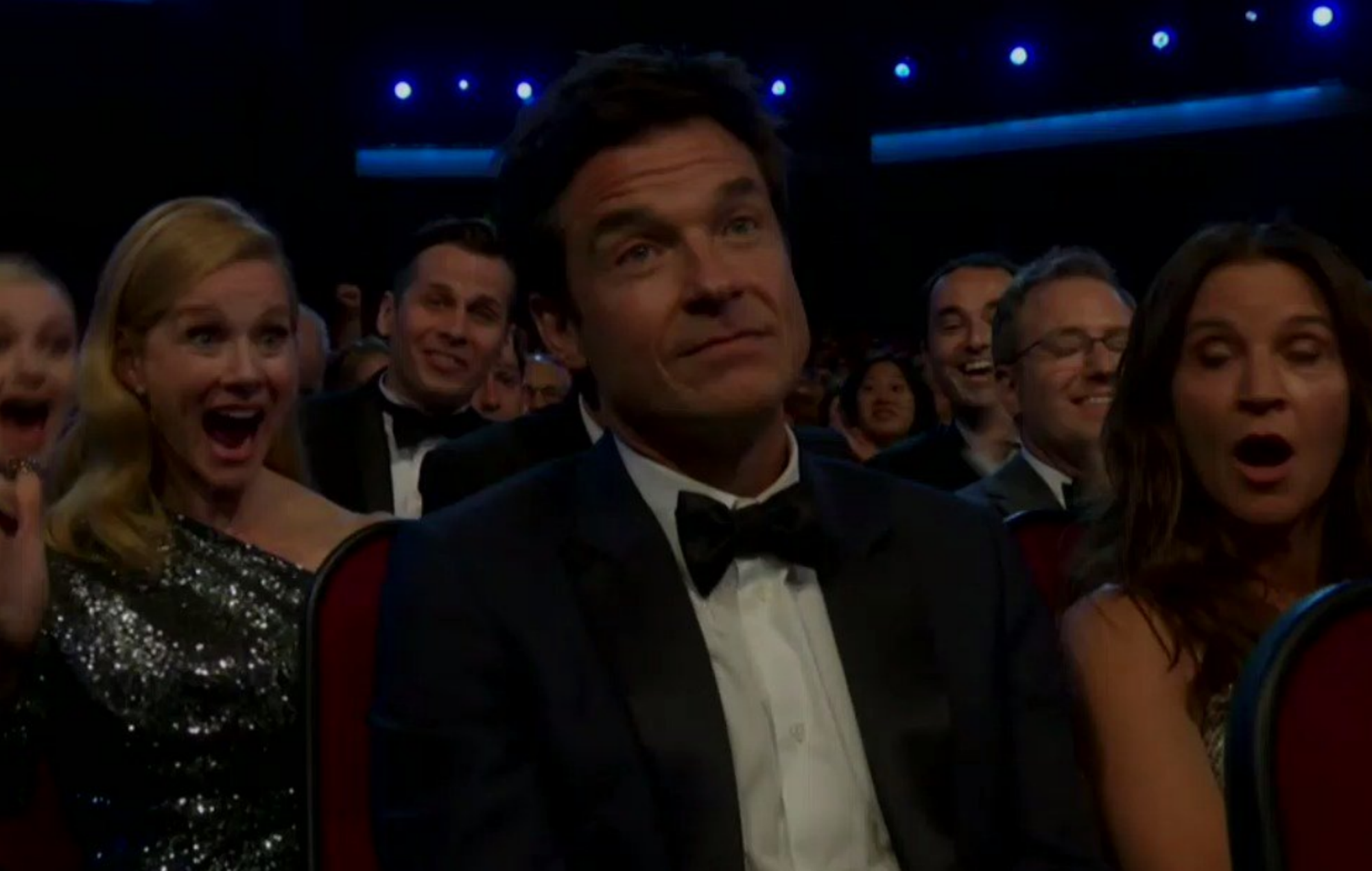 Jason Bateman gets the meme treatment after brilliant reaction to Emmys win