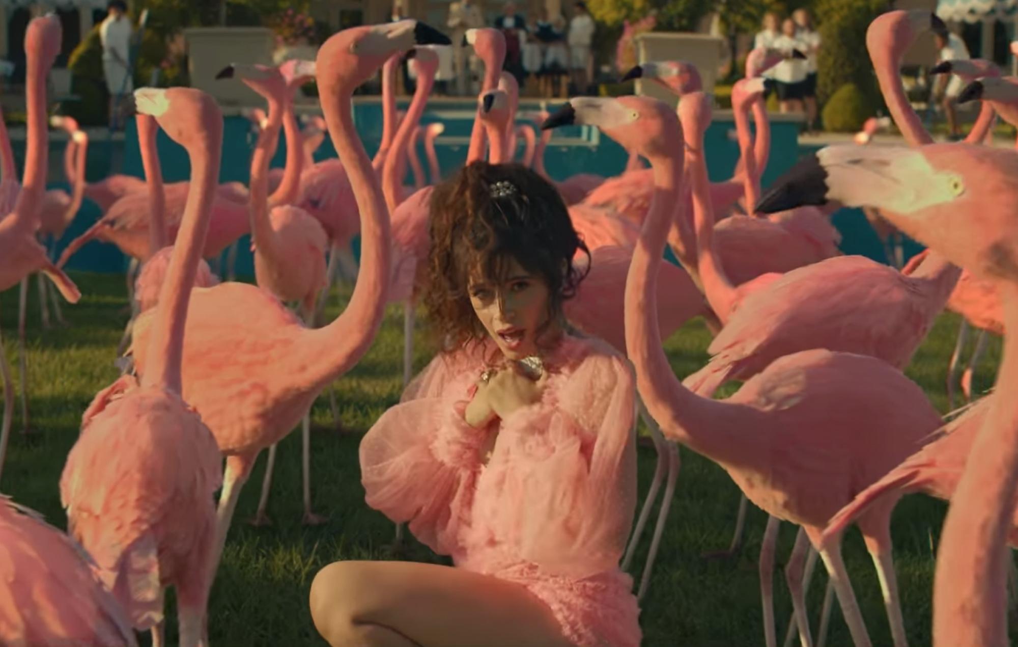 Camila Cabello Liar music video Romance album