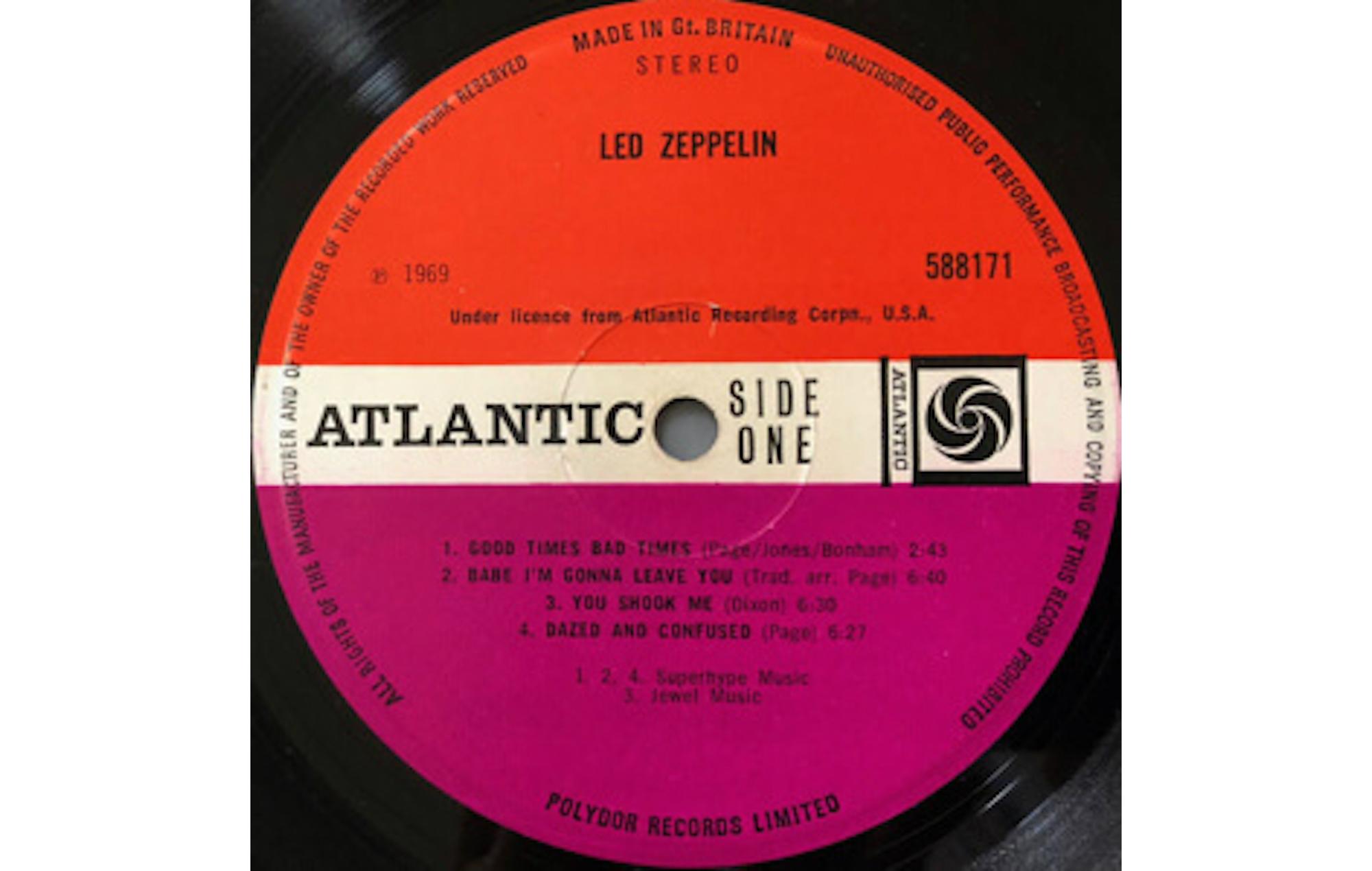 Led Zeppelin Led Zeppelin album