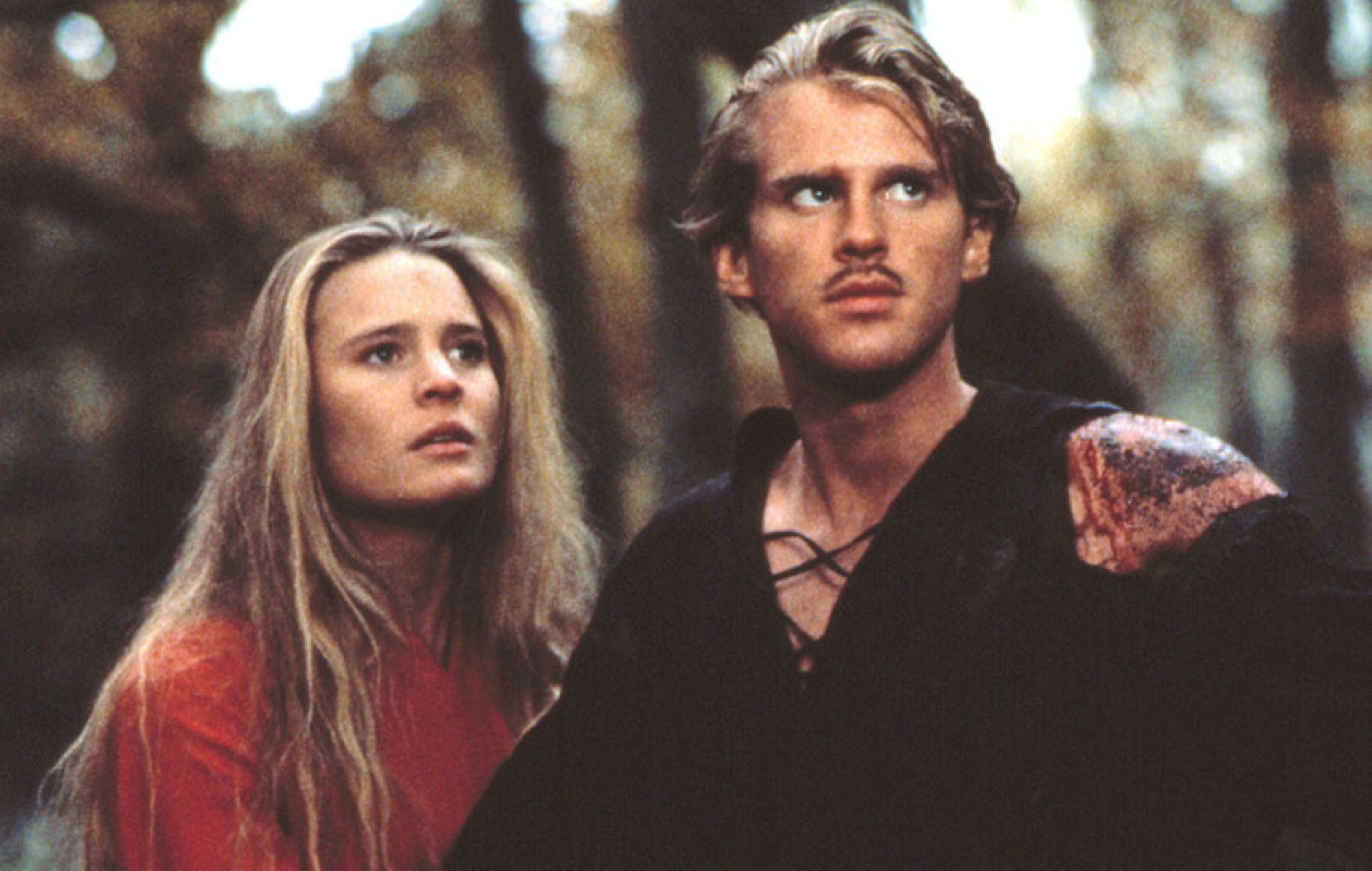 Westley and Buttercup from the Princess Bride
