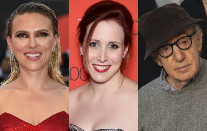 Scarlett Johansson Dylan Farrow Woody Allen