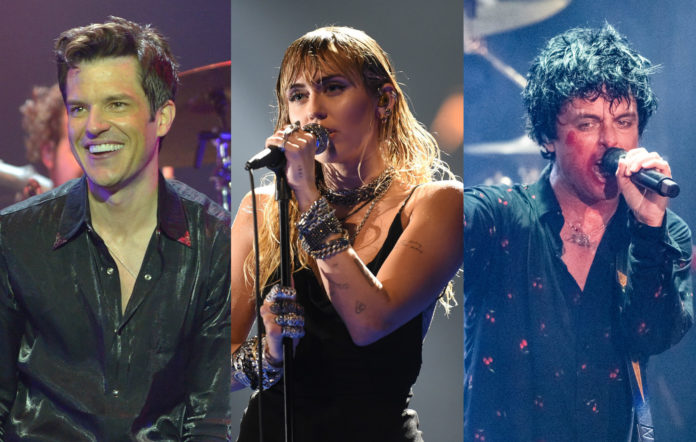 The Killers Miley Cyrus Green Day