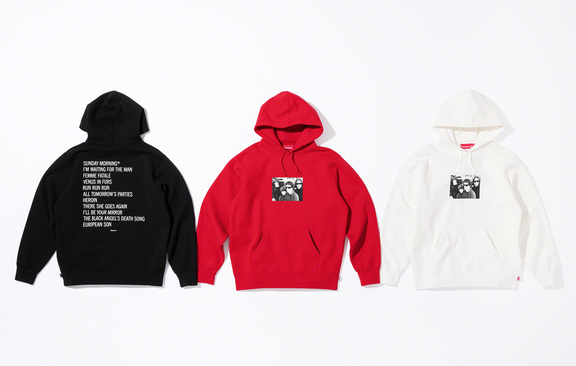 Velvet Underground Supreme collection 2019