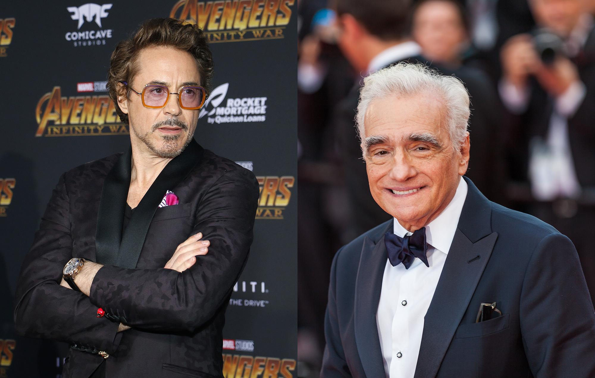 Robert Downey Jr responds to Martin Scorsese's criticism of Marvel