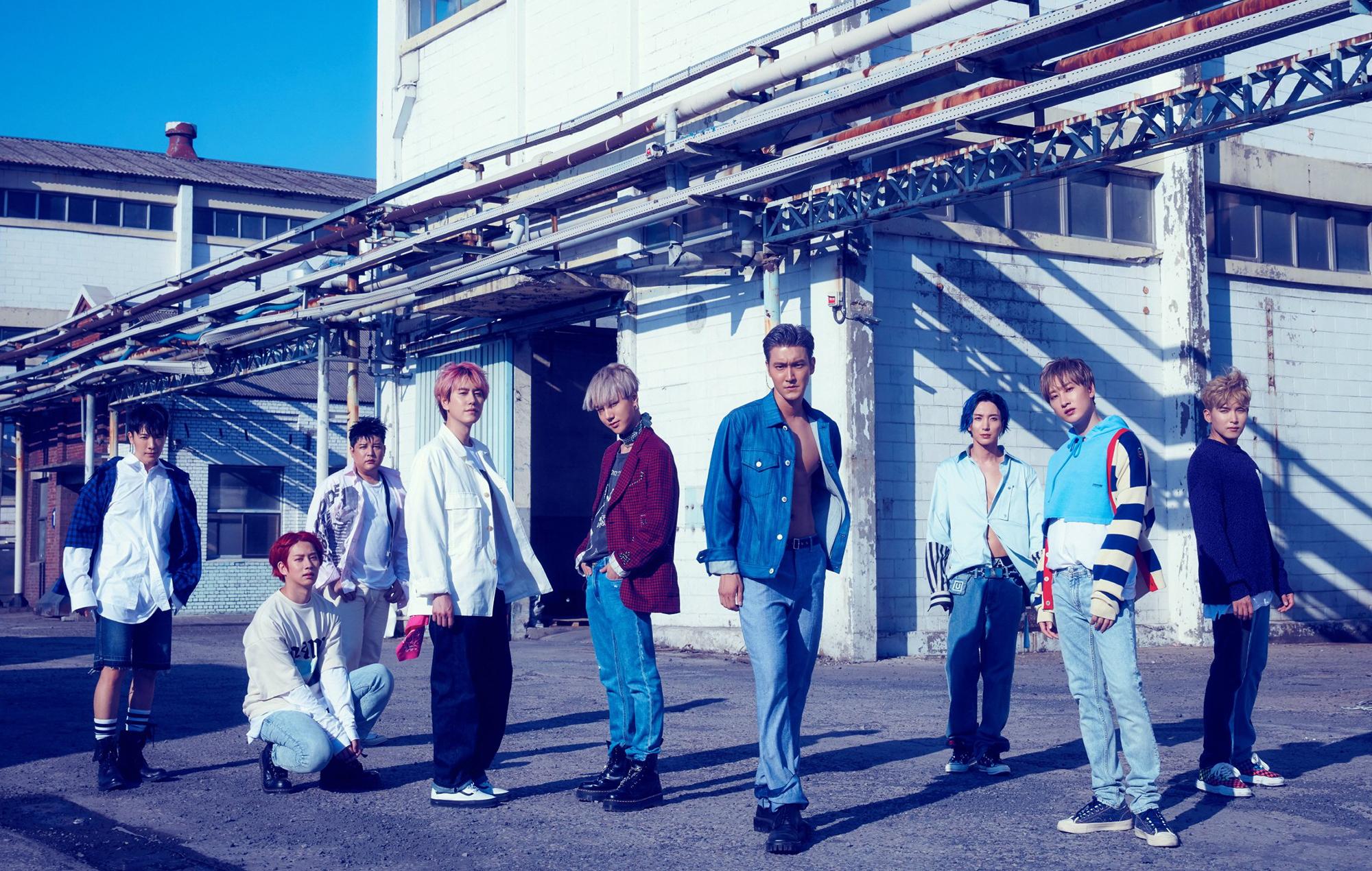 Super Junior Time Slip