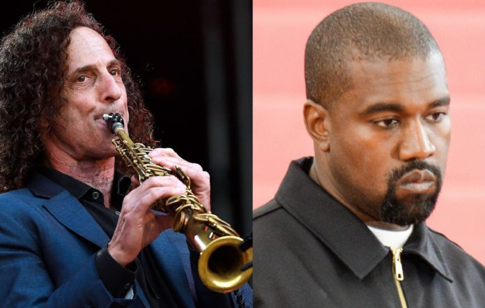 Kenny G and Kanye West 2019