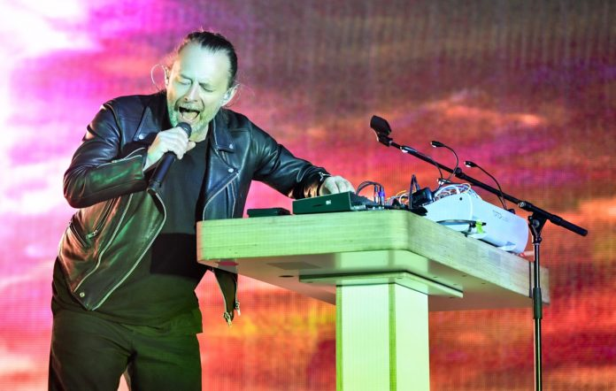 Radiohead's Thom Yorke, live 2019