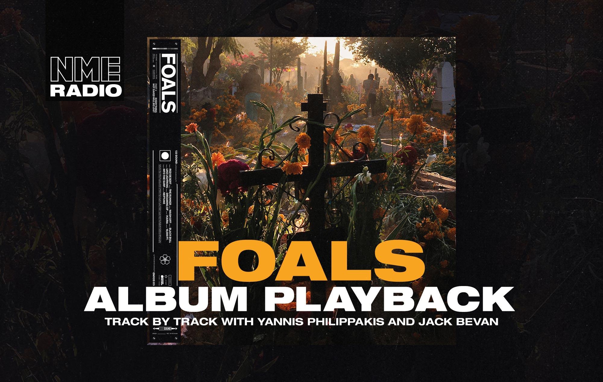 Foals album playback