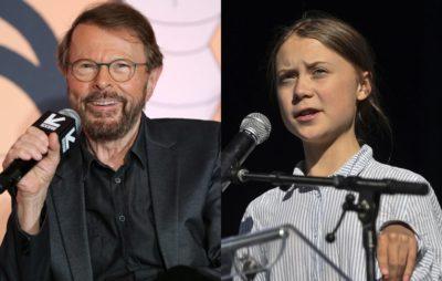 ABBA's Björn Ulvaeus and climate activist Greta Thunberg