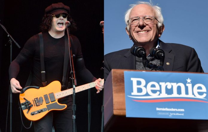 Jack White is set to perform at a Bernie Sanders rally in Detroit
