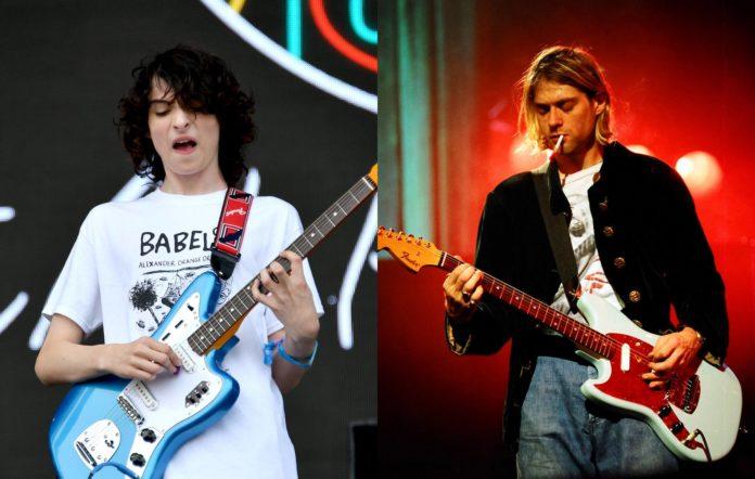 Finn Wolfhard and Kurt Cobain